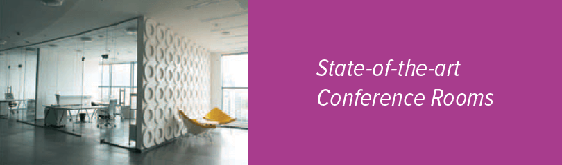 state of the art  conference rooms