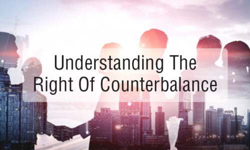 Understanding the Right of Counterbalance