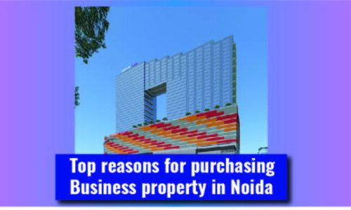 Top reasons for purchasing Business property in Noida