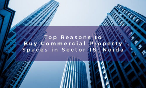 Top Reasons to Buy Commercial Property Spaces in Sector 18, Noida